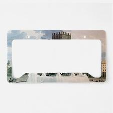 Cute Bastille License Plate Holder