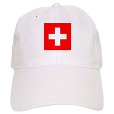 Swiss Flag Baseball Cap