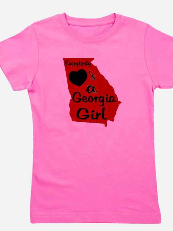 Cute Georgia bulldogs Girl's Tee