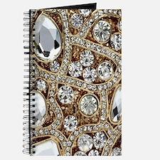 bohemian girly bling rhinestone Journal