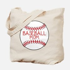 Cute Baseball mom Tote Bag