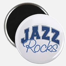 Jazz Rocks Magnet