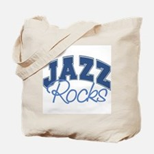 Jazz Rocks Tote Bag