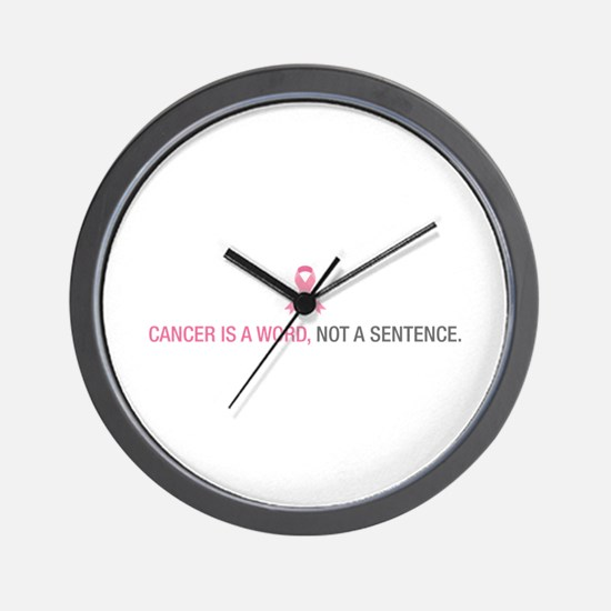 Cancer is a Word Wall Clock
