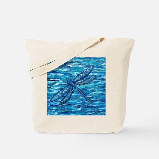 Cute Dragonfly art Tote Bag