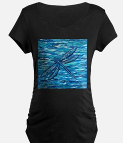Dragonfly 2 Maternity T-Shirt