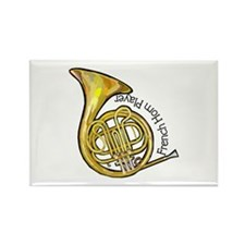 French Horn Rectangle Magnet (10 pack)