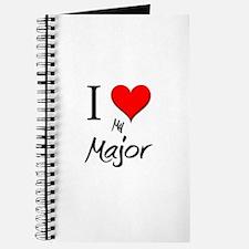 I Love My Major Journal