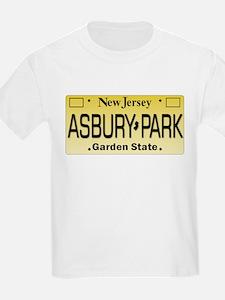Asbury Park NJ Tag Apparel T-Shirt