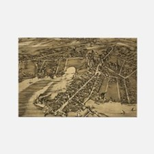Funny Antique maps Rectangle Magnet