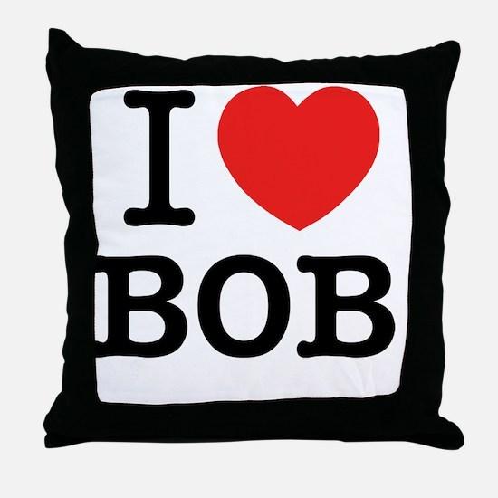 I love Throw Pillow