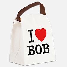 Cute I love Canvas Lunch Bag
