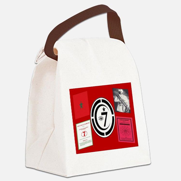 Cute Timothy Canvas Lunch Bag