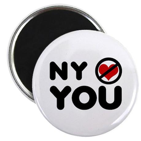 NY No Love Magnet