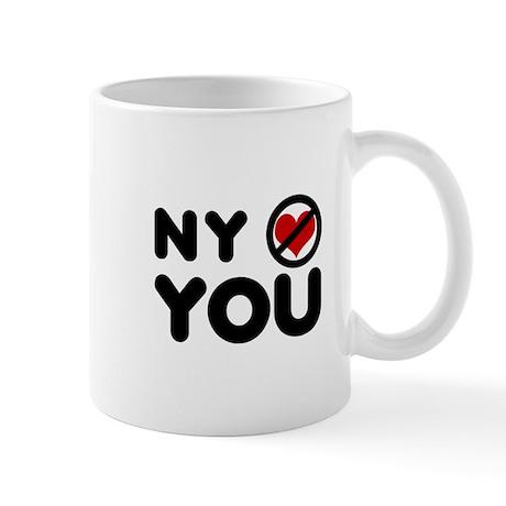 NY No Love Mug