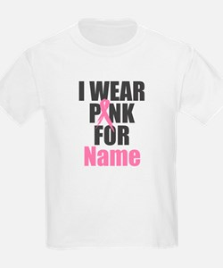 Breast Cancer Awareness - I Wea T-Shirt