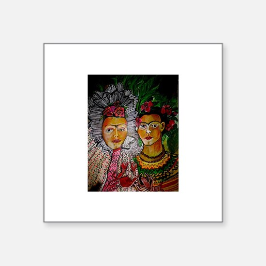Sisters by Ruth Olivar Millan Sticker