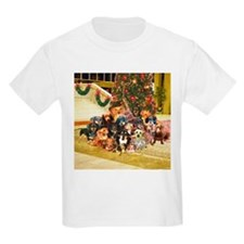 A Dachshund Family Christmas T-Shirt