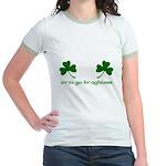 Erin Go Braghless Jr. Ringer T-Shirt