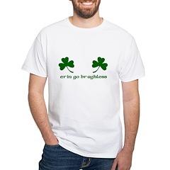 Erin Go Braghless White T-Shirt