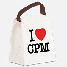 Cute Cpm Canvas Lunch Bag