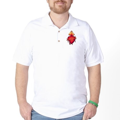 Sacred Heart (only) Golf Shirt