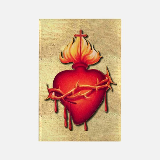 Sacred Heart (only) Rectangle Magnet