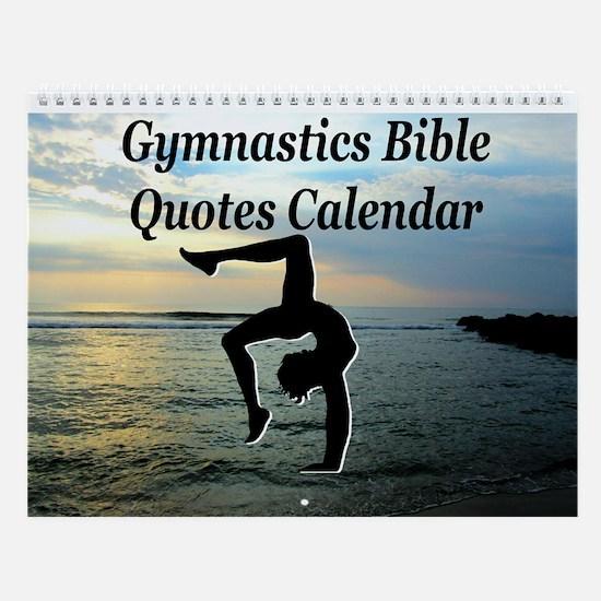 Christian Gymnast Wall Calendar
