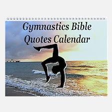 Bible Gymnast Wall Calendar