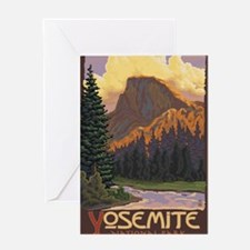 Yosemite National Park, California - Half Dome Gre
