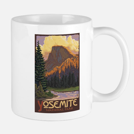 Yosemite National Park, California - Half Dome Mug