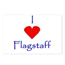 I love Flagstaff Postcards (Package of 8)