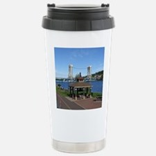 Portage Lake Bridge Travel Mug