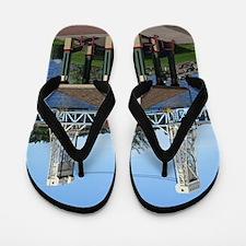 Portage Lk Lift Bridge Flip Flops