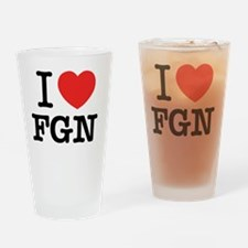 Cute Fgn Drinking Glass