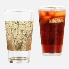 Unique Civil war battlefield Drinking Glass
