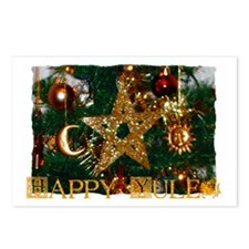 Cute Wiccan holidays Postcards (Package of 8)