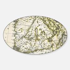 Funny Map finland Decal