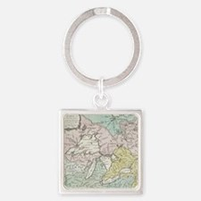 Cute Great lakes Square Keychain