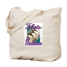 Flute Goddess Tote Bag