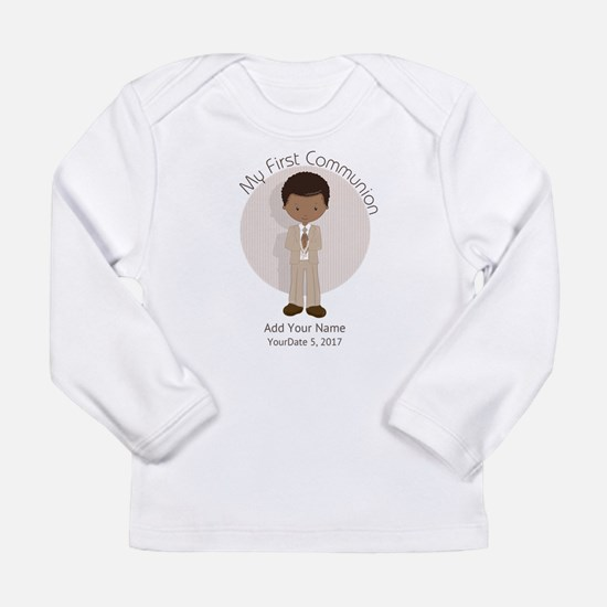 First Communion African Long Sleeve Infant T-Shirt
