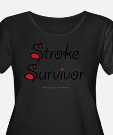 Stroke Survivor Plus Size T-Shirt