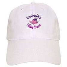 Grandpa's Fishing Princess Baseball Cap