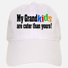 Grandkids Cuter Than Yours Baseball Baseball Cap
