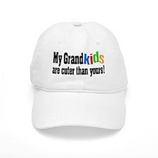 Grandkids Cuter Than Yours Baseball Cap
