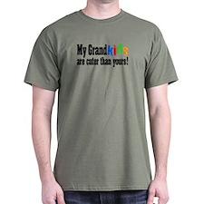 Grandkids Cuter Than Yours T-Shirt