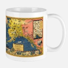 Alaska Steamship Company - (1934) - Map Mugs