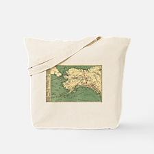 Alaska - (1897) - Panoramic Map Tote Bag