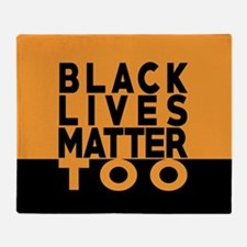 BLM TOO Throw Blanket