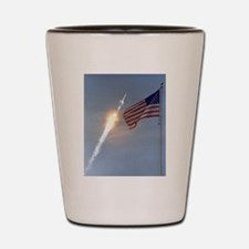 Apollo 11 Launch - Vintage Photo Shot Glass